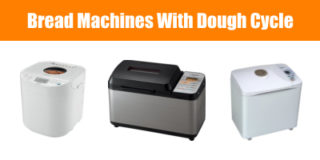 Bread machine with dough cycle