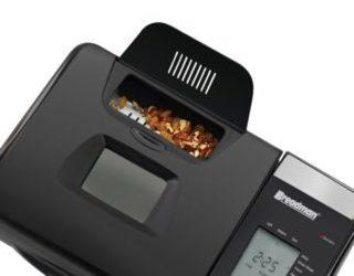 Breadman TR2500BC Ultimate Plus Showing Fruit Nut Dispenser