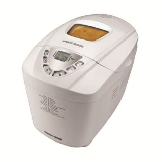 Black and Decker B6000C Deluxe Bread Maker in White color