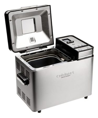 Conair Cuisinart CBK-200 Convection Bread Maker with Lid Open