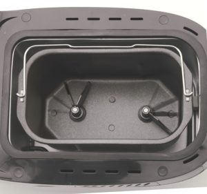 West Bend 41300 Hi-Rise Bread Pan Two Kneading Blades