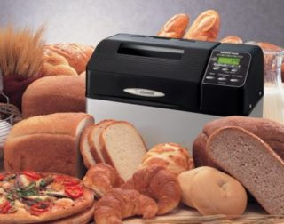 Zojirushi BB-CEC20 Home Bakery Supreme Breadmaker with Various Breads