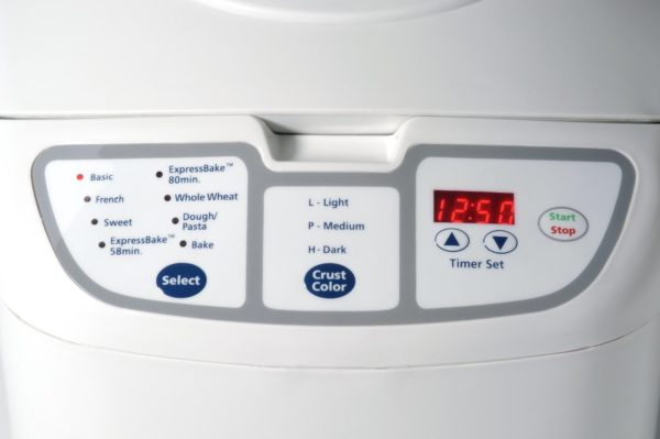 Oster 5838 Bread Machine Control Panel