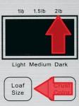 Cuisinart CBK-100 2-Lb Loaf Size Red Arrows