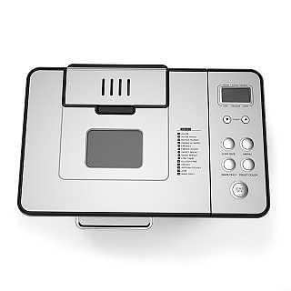 Breadman BK1050S bread machine top view of lid control panel