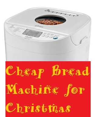 Cheap Bread Machine for Christmas Oster CKSTBRTW20