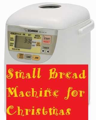 Small Bread Machine for Christmas Zojirushi BB-HAC10